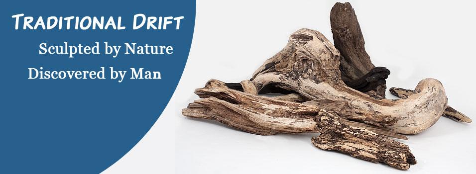 natural beautiful driftwood